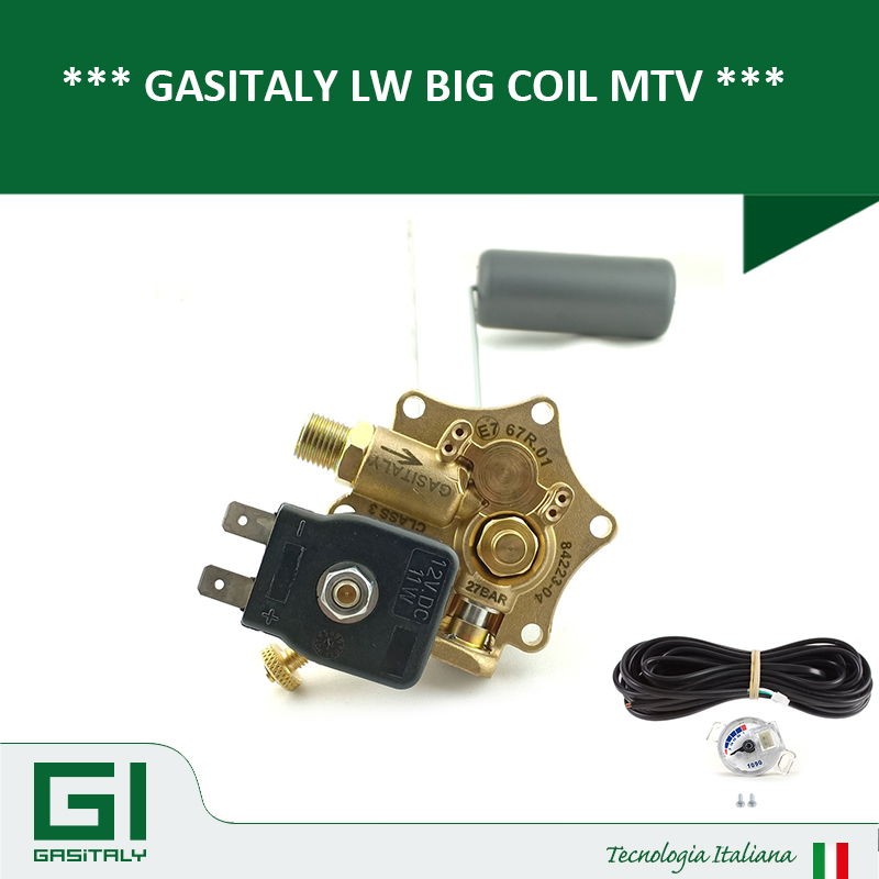 GASITALY LW BIG COIL MULTIVALVE